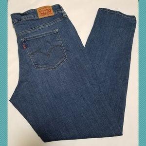 Levi's 311 Medium Wash Shaping Skinny Jeans